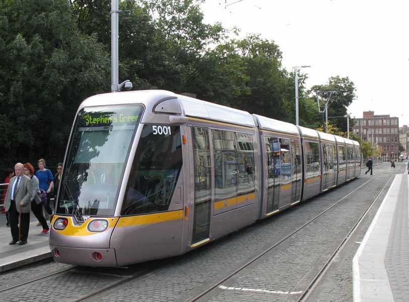 Light rail in Dublin, Ireland