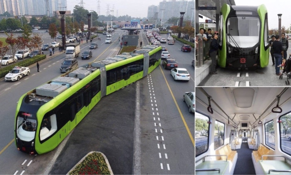 CRRC's Autonomous Rail Rapid Transit Vehicle